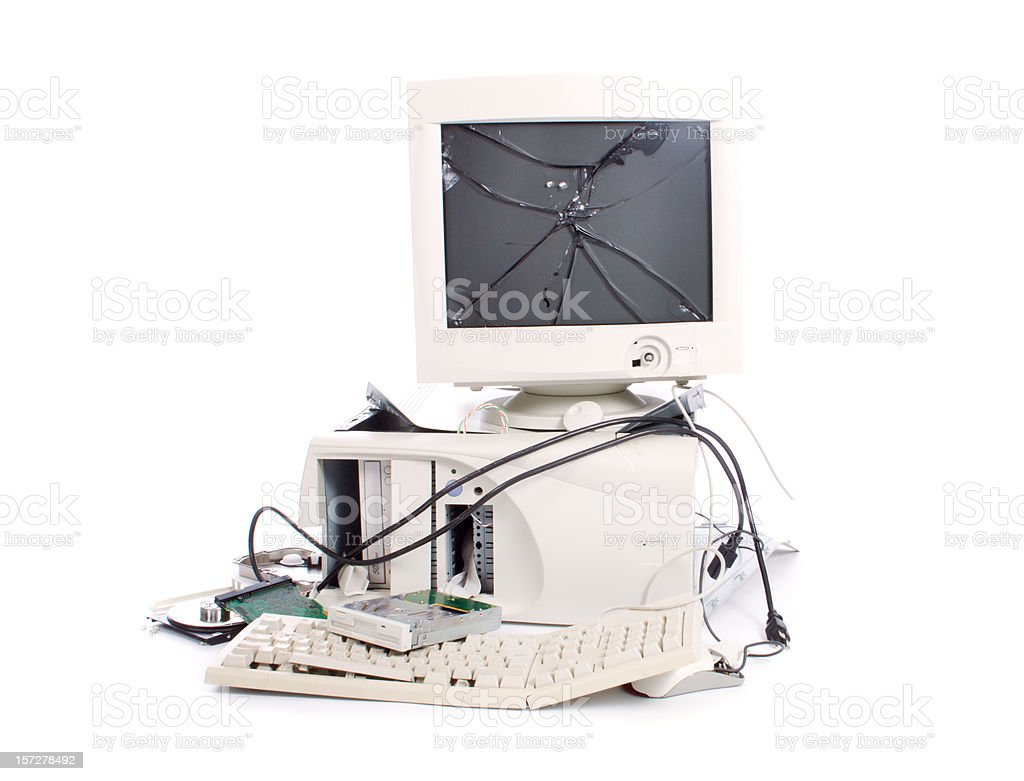 Time for a new computer? royalty-free stock photo