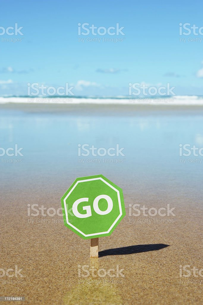 Time for a Vacation royalty-free stock photo