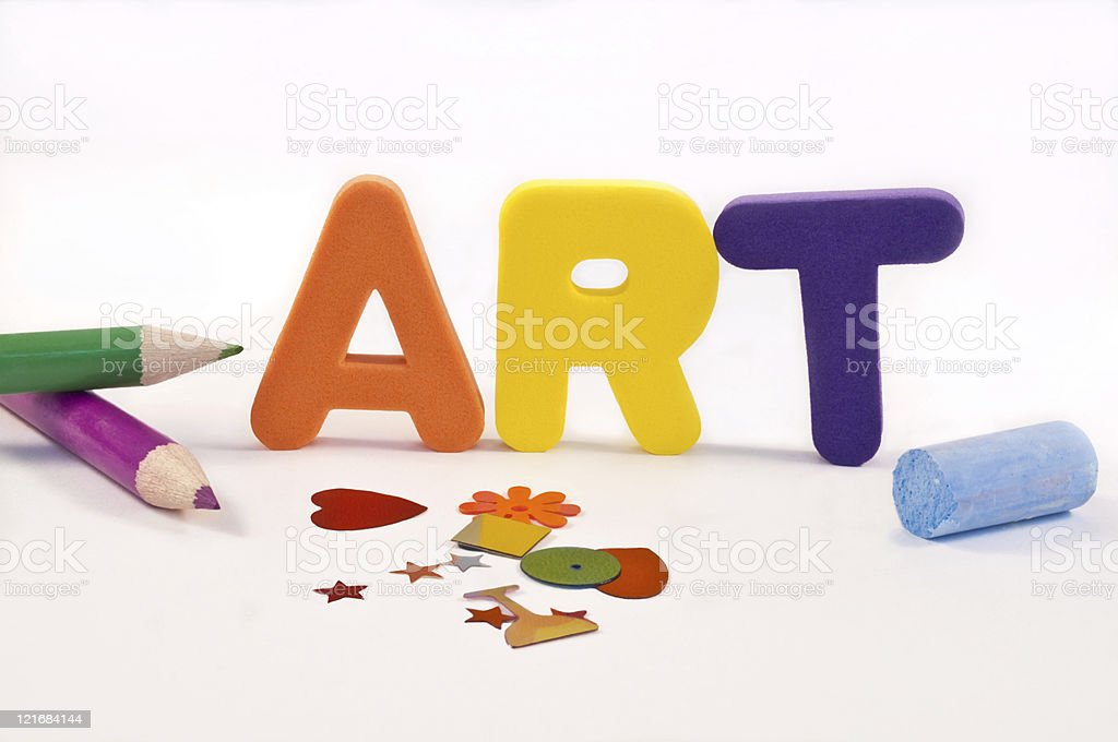 Time for art. royalty-free stock photo