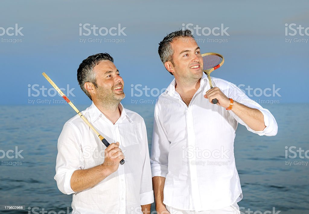 time for badminton royalty-free stock photo
