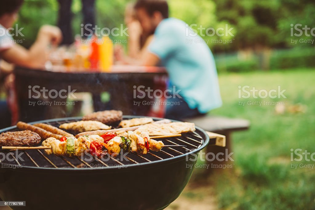 Time for barbecue royalty-free stock photo