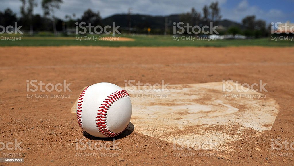 Time For Baseball stock photo