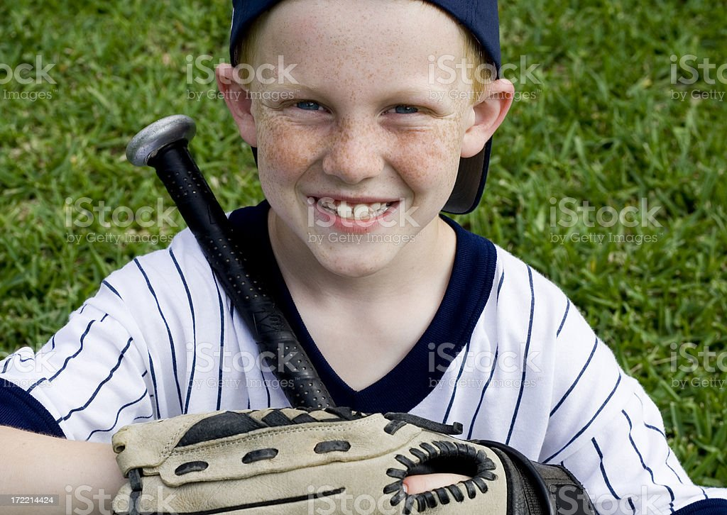 time for baseball!!! royalty-free stock photo