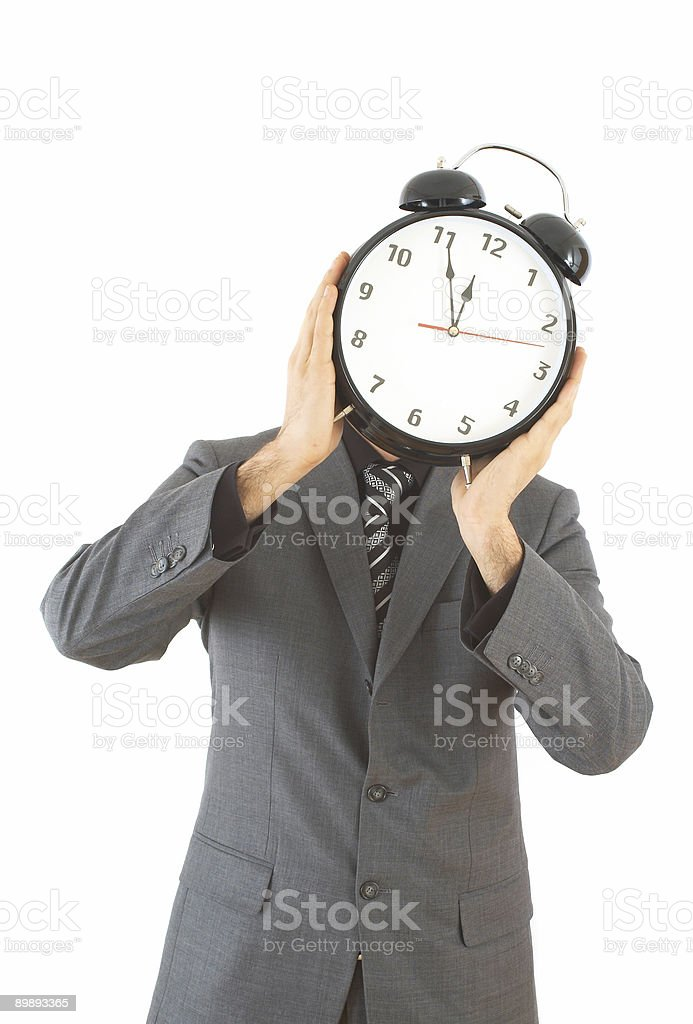 time for business stock photo