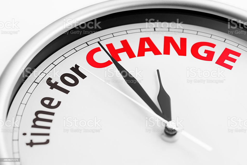 Time For Change royalty-free stock photo