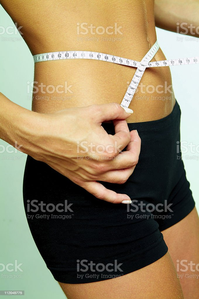 Time for diet royalty-free stock photo