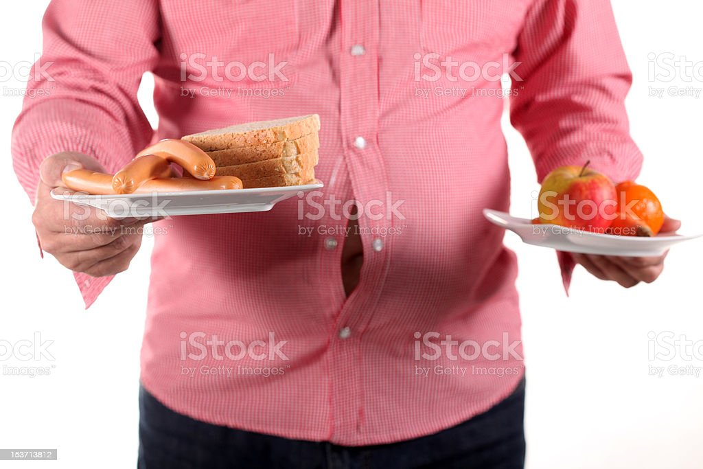 Time for dieting royalty-free stock photo