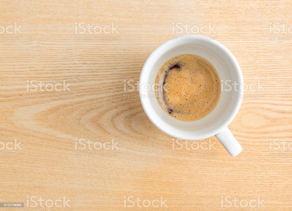 Time for espresso stock photo