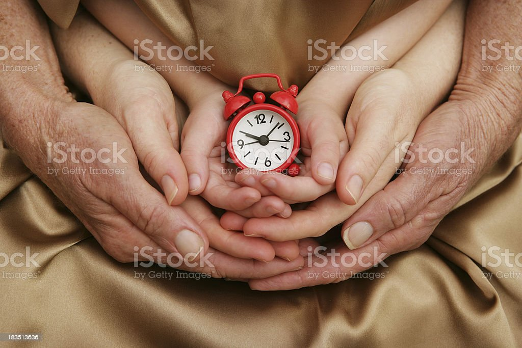 Time for Family royalty-free stock photo
