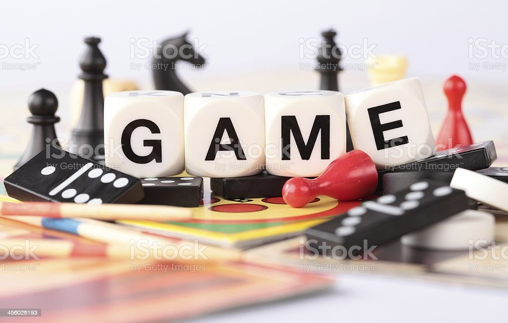 Time for game royalty-free stock photo