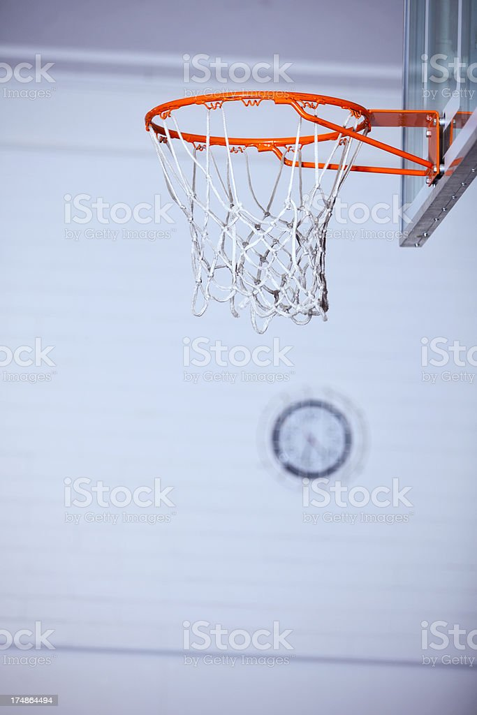 Time for Indoor Hoops stock photo