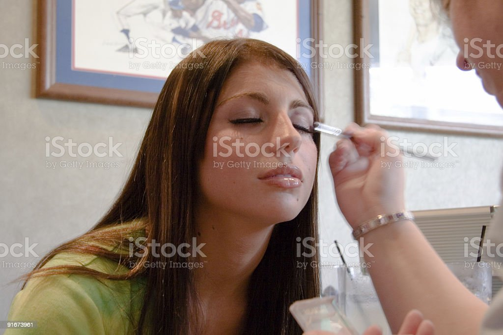 Time for Make-Up stock photo