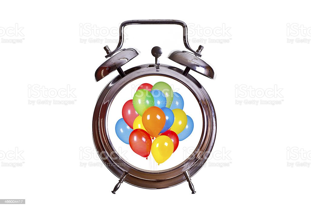 time for party royalty-free stock photo