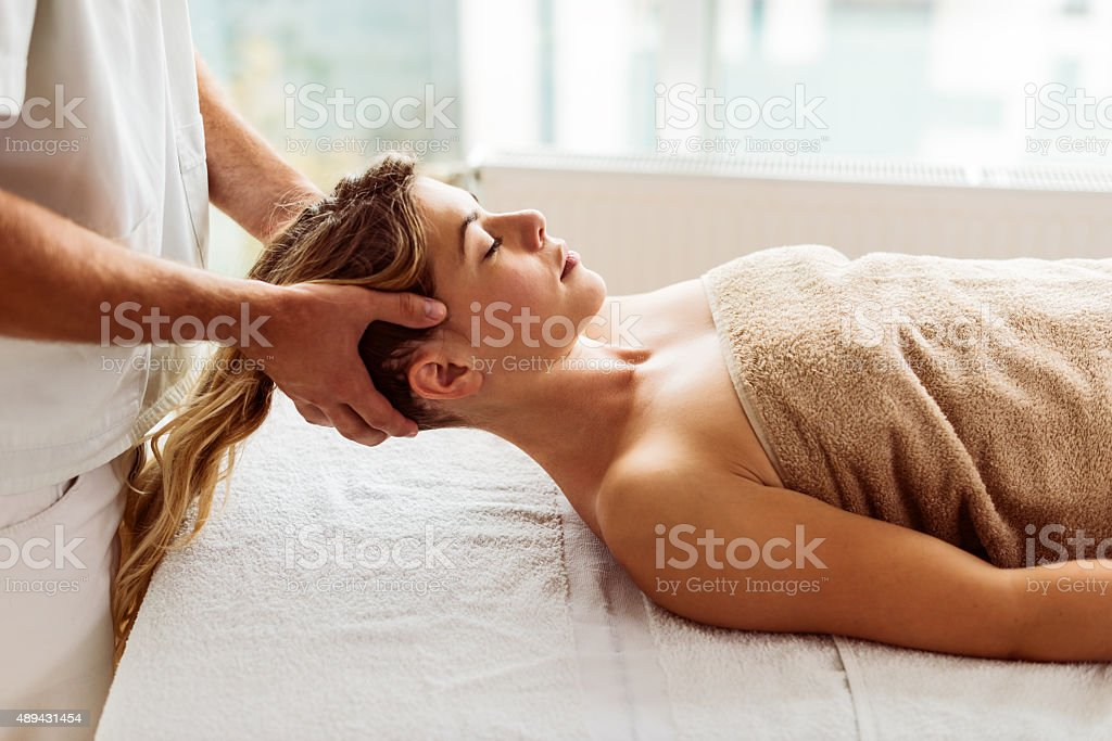 Time for recovery stock photo