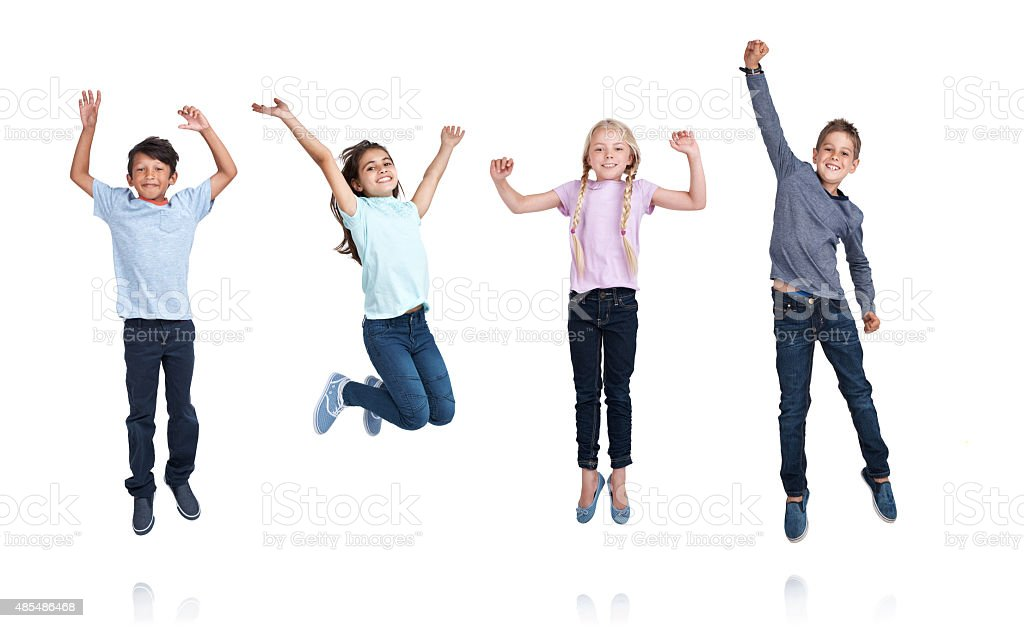 Time for school holidays! stock photo