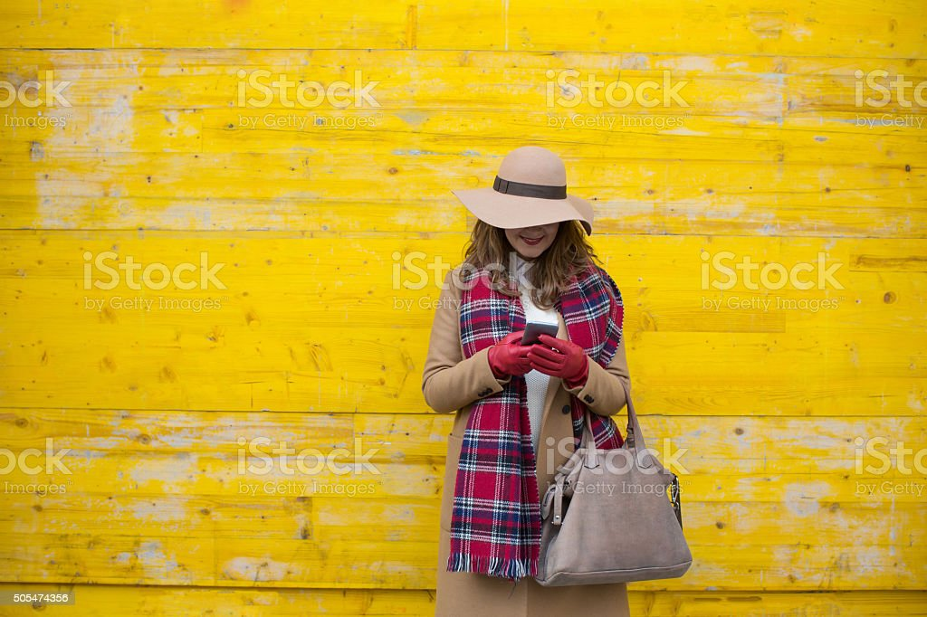 Time for social networks stock photo