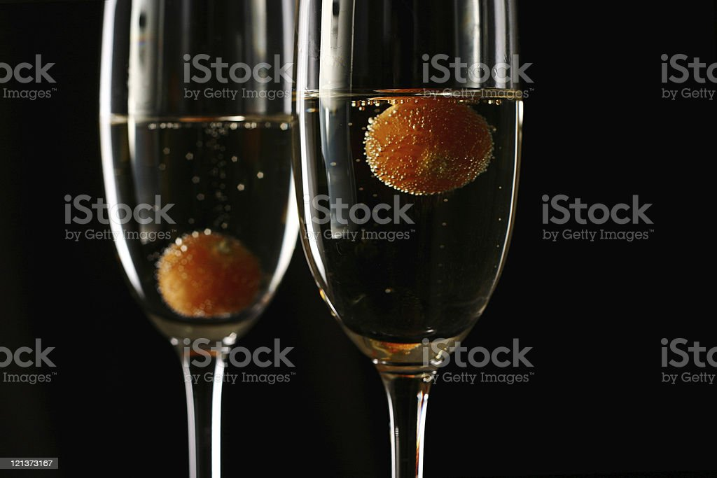 Time for some Champagne! stock photo