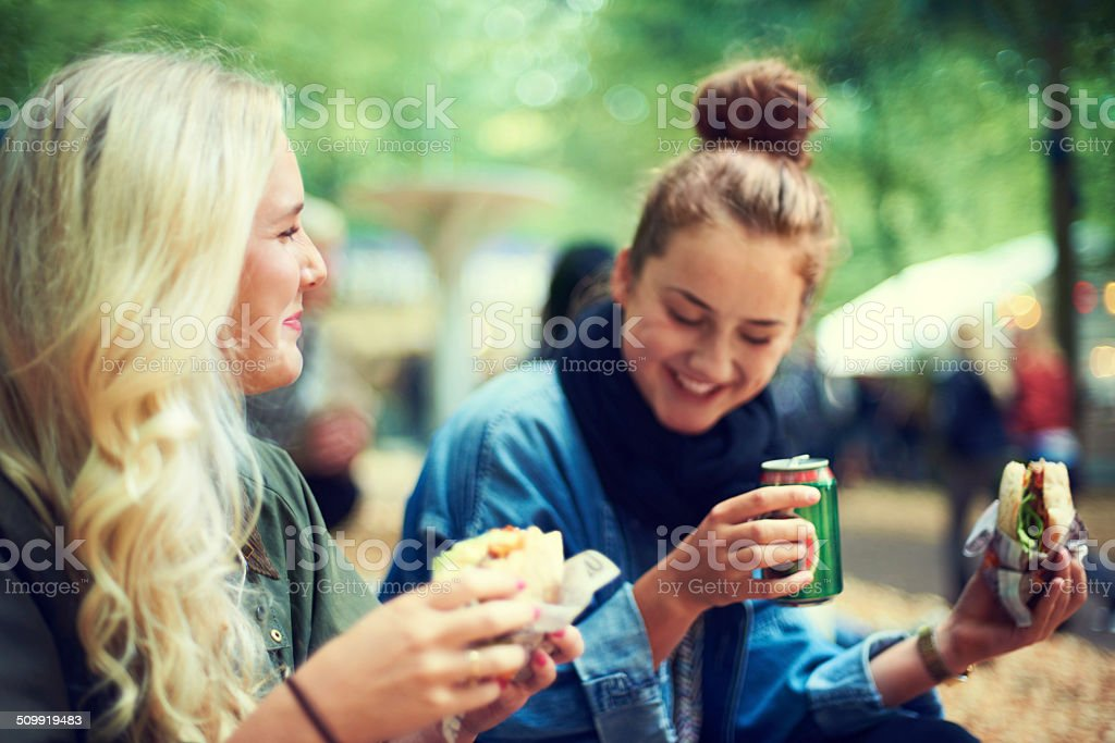 Time for some refreshments stock photo