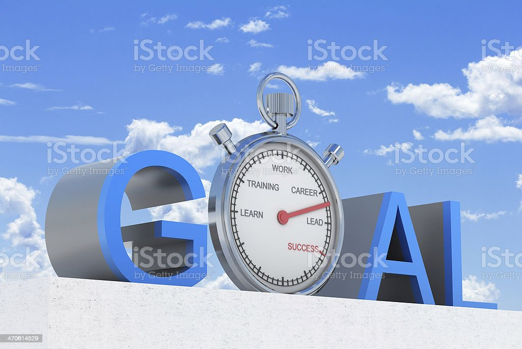Time for Success royalty-free stock photo