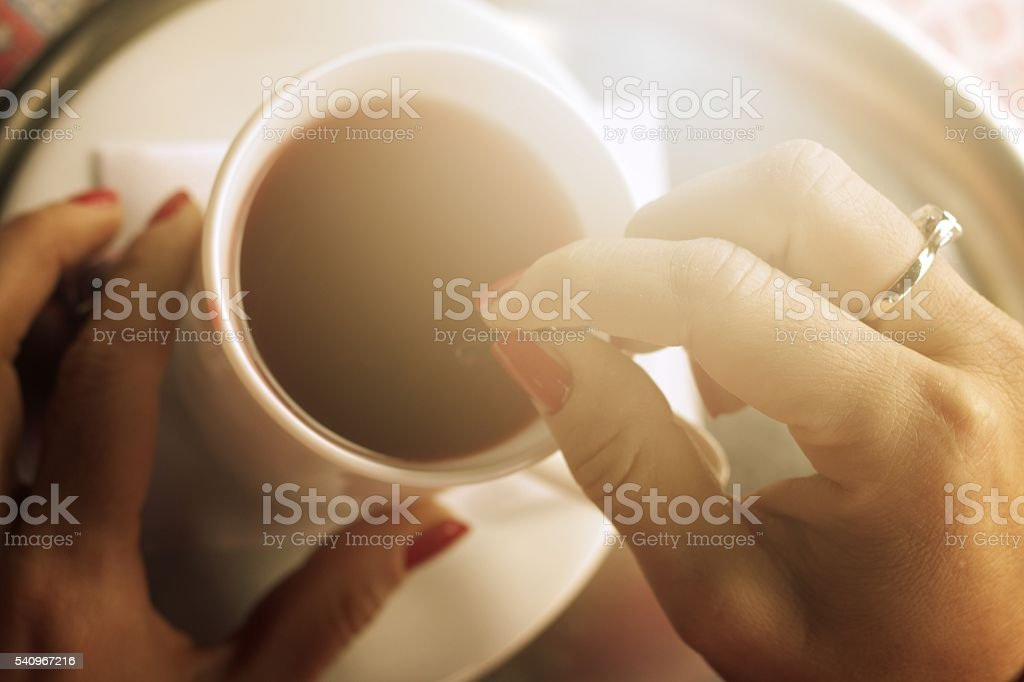 Time for tea stock photo