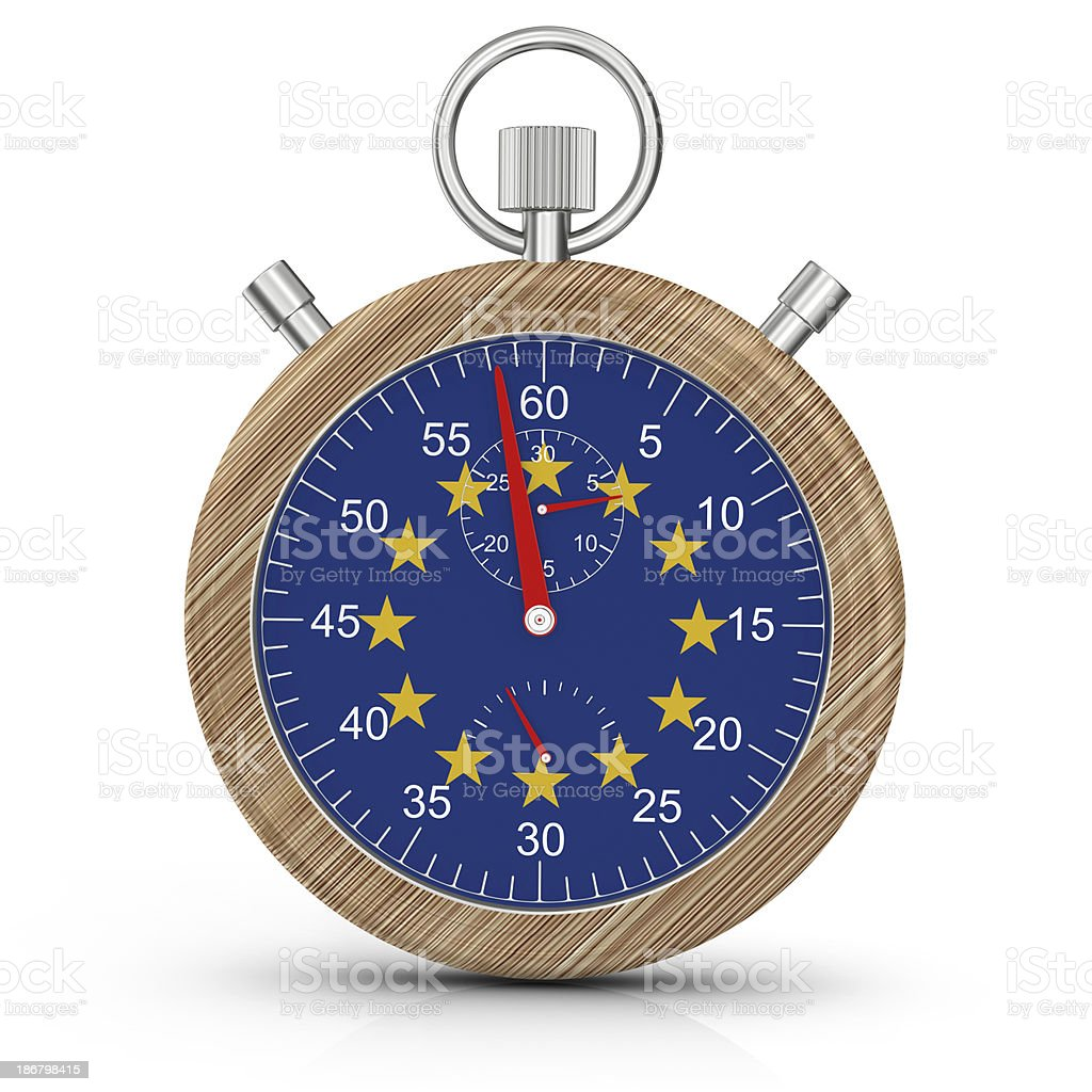 Time for the European Union royalty-free stock photo