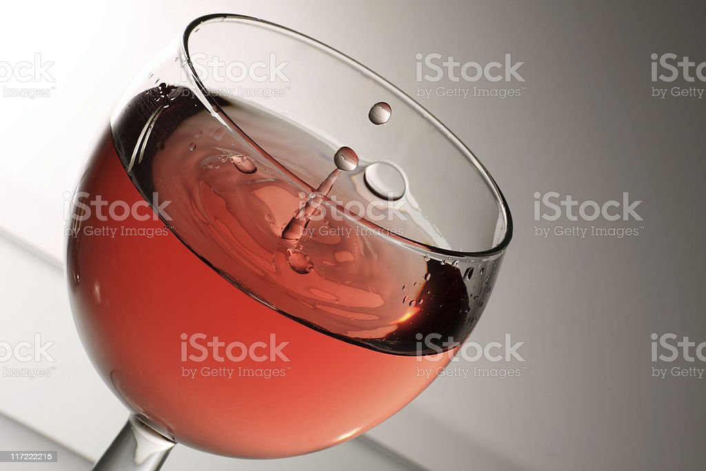 time for wine royalty-free stock photo