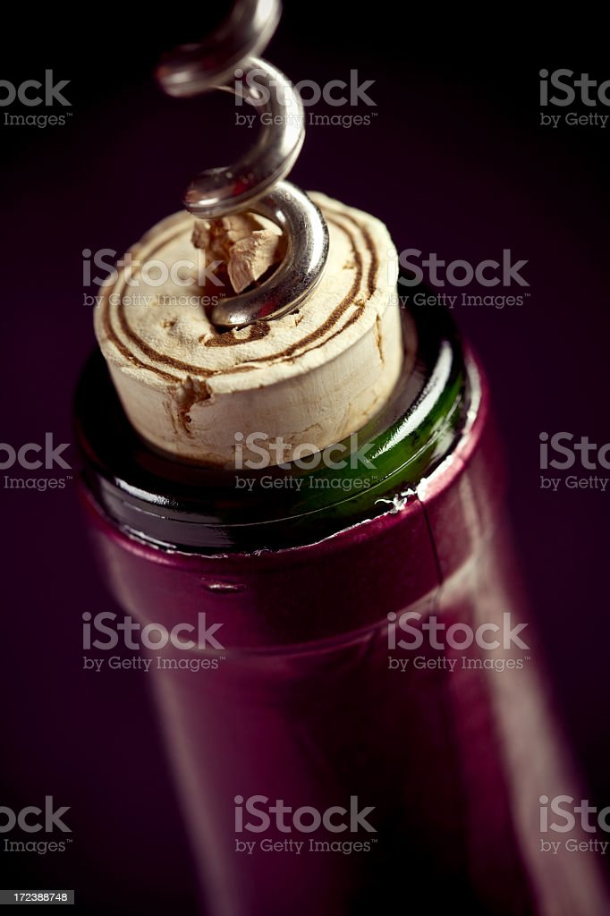 Time for Wine stock photo