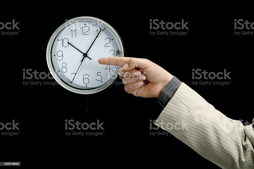 Time for work concept royalty-free stock photo