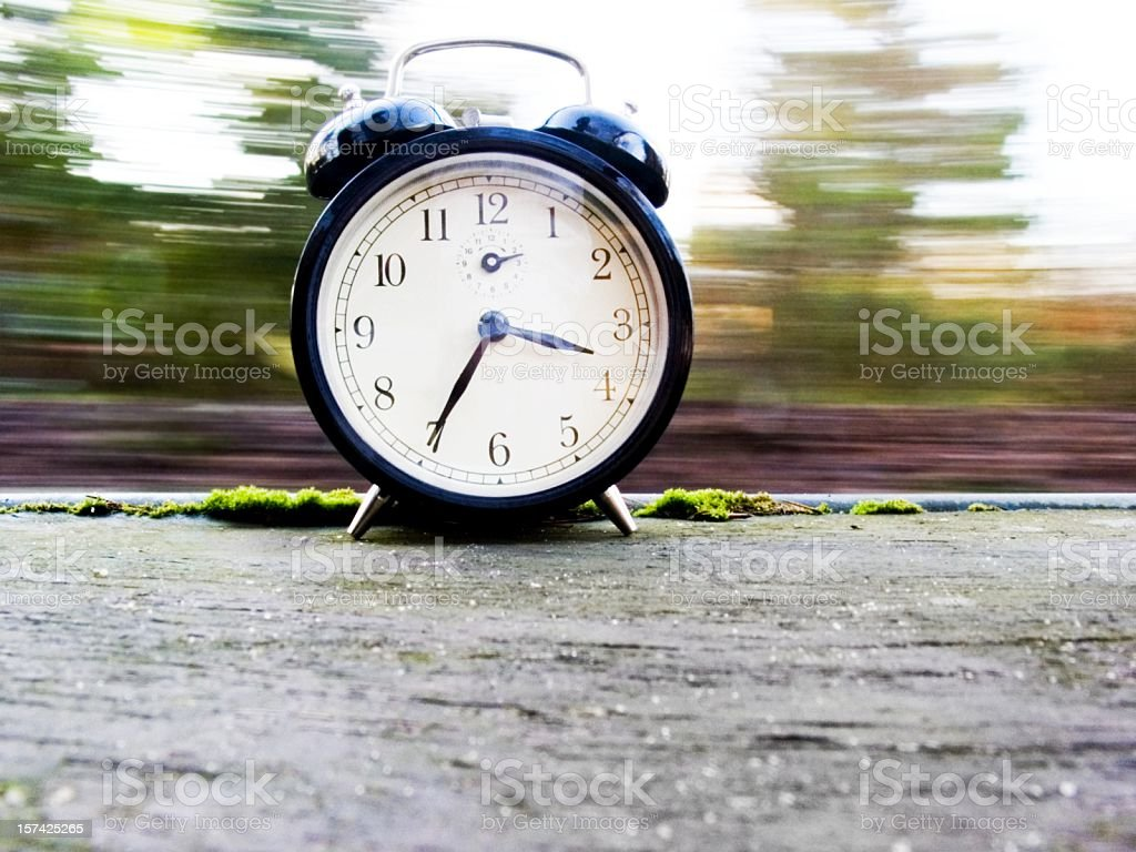 time goes by stock photo