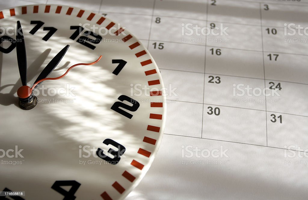 Time goes by. royalty-free stock photo