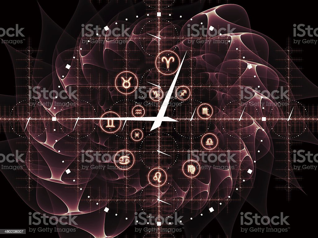 Time Grid stock photo