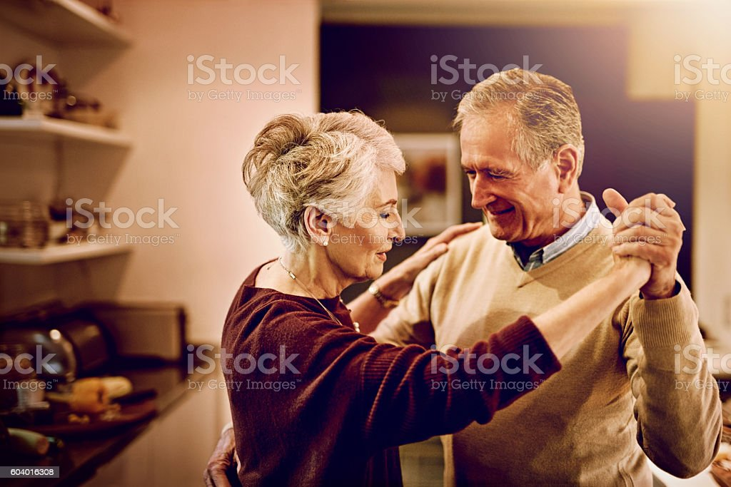 Time has shown them what really matters in life stock photo