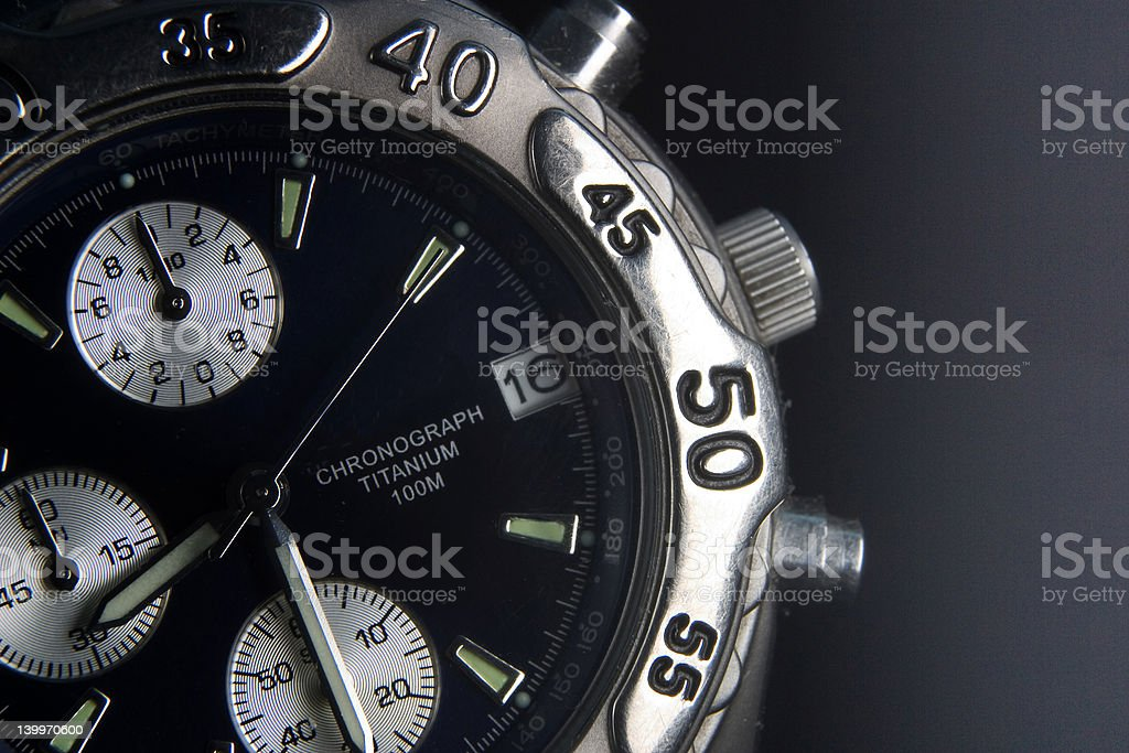 time in black royalty-free stock photo