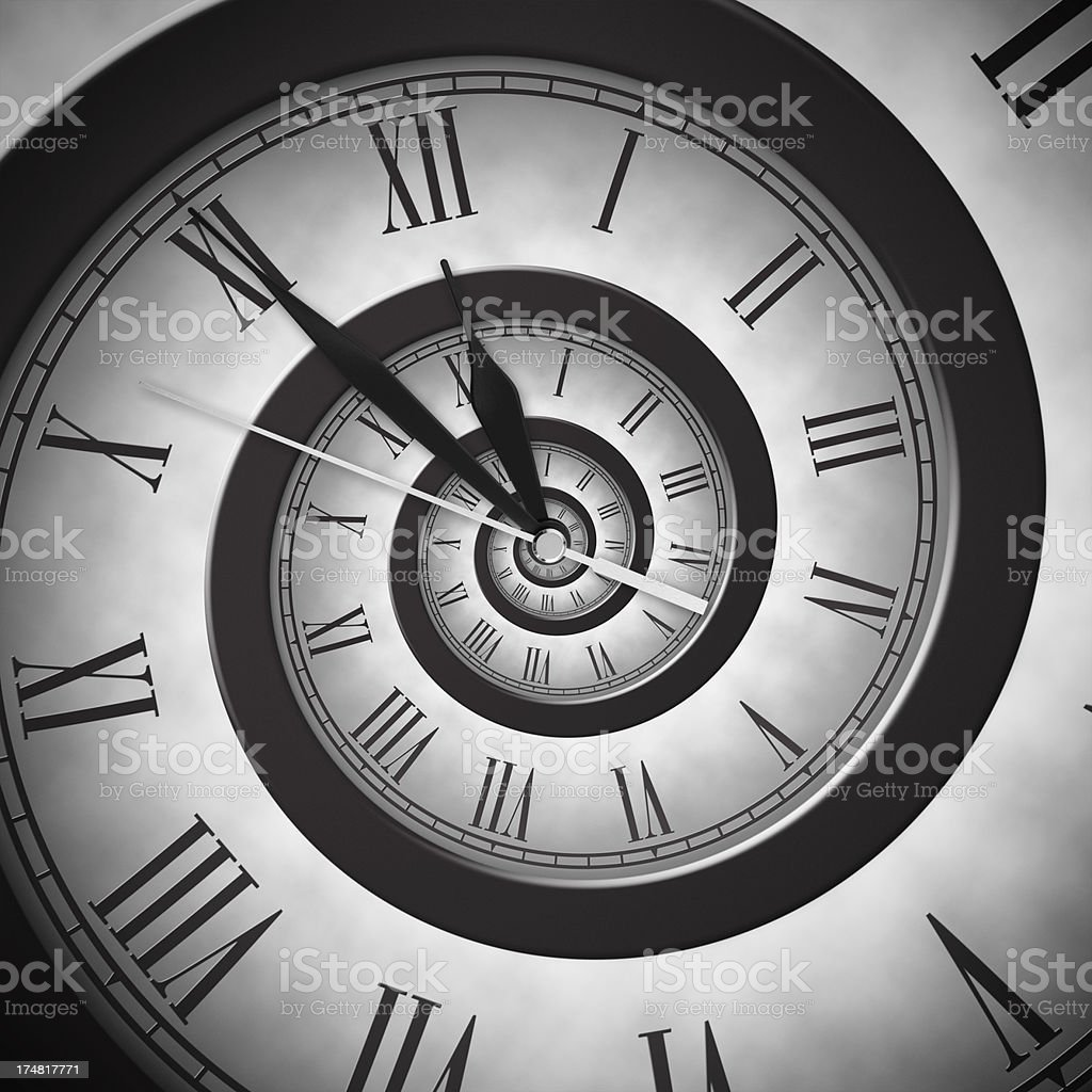 Time Infinity stock photo