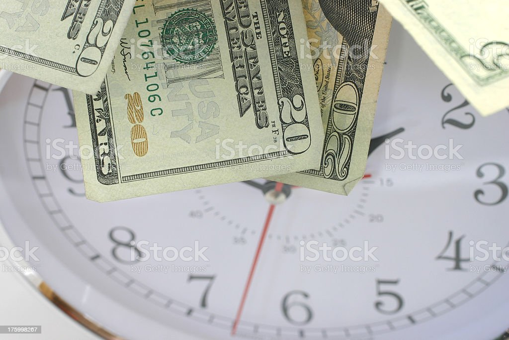 Time is money 3 royalty-free stock photo