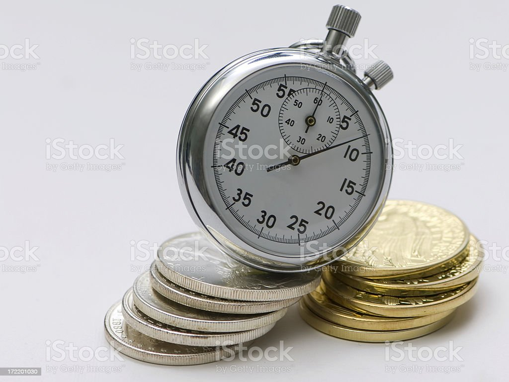 Time is Money 7 stock photo
