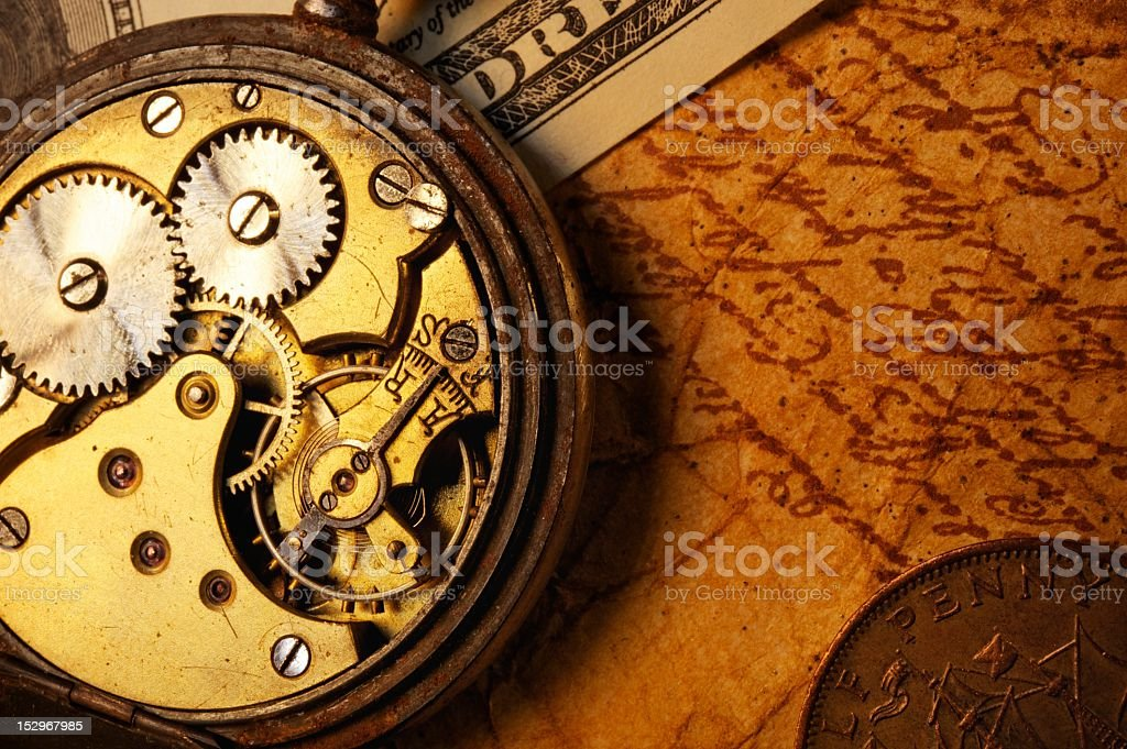 Time is money concept royalty-free stock photo