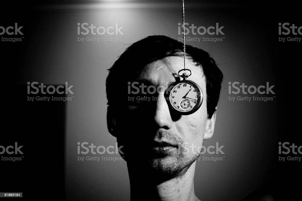 Time is money - man in office royalty-free stock photo