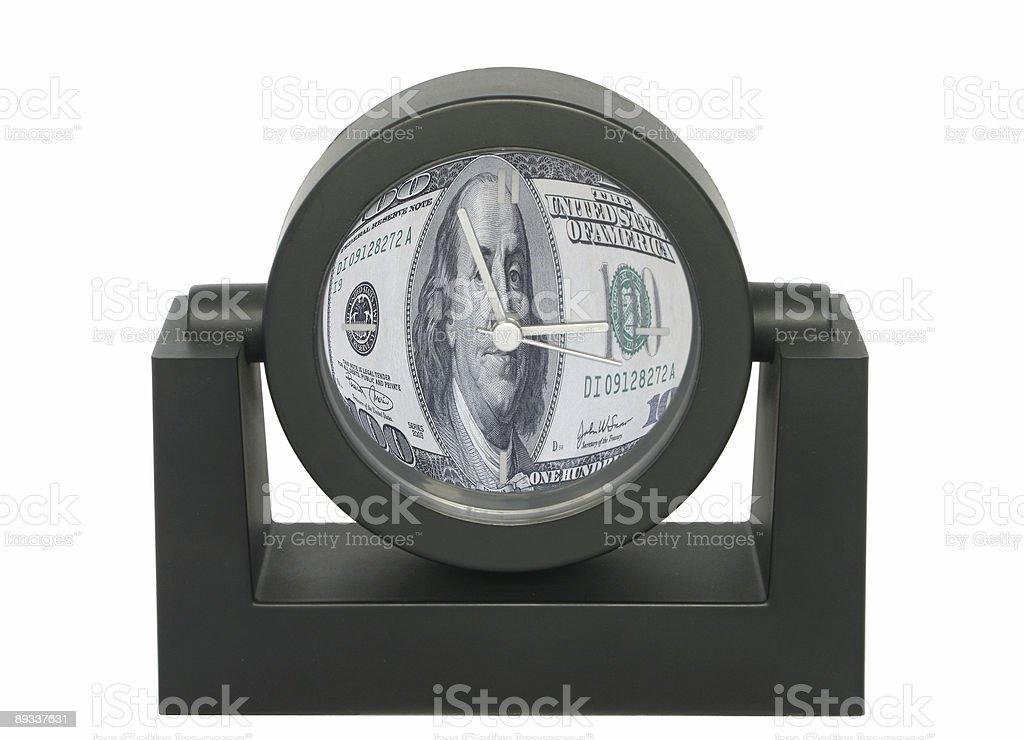 time is money metaphor royalty-free stock photo