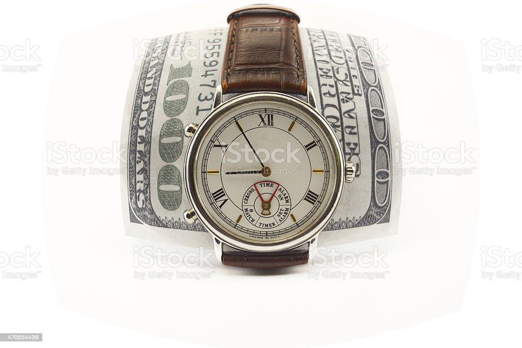 Zeit ist Geld Lizenzfreies stock-foto