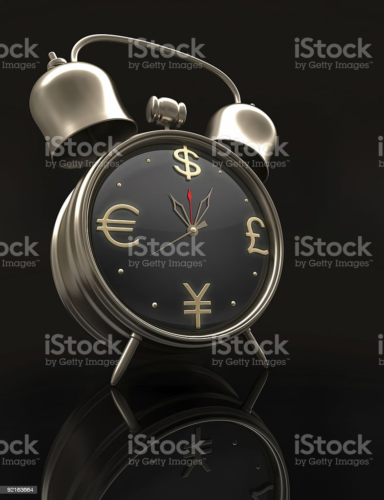 Time is Money (Business in the world) royalty-free stock photo