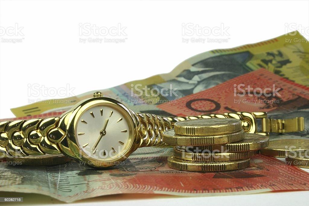 Time is Money (feminine) royalty-free stock photo