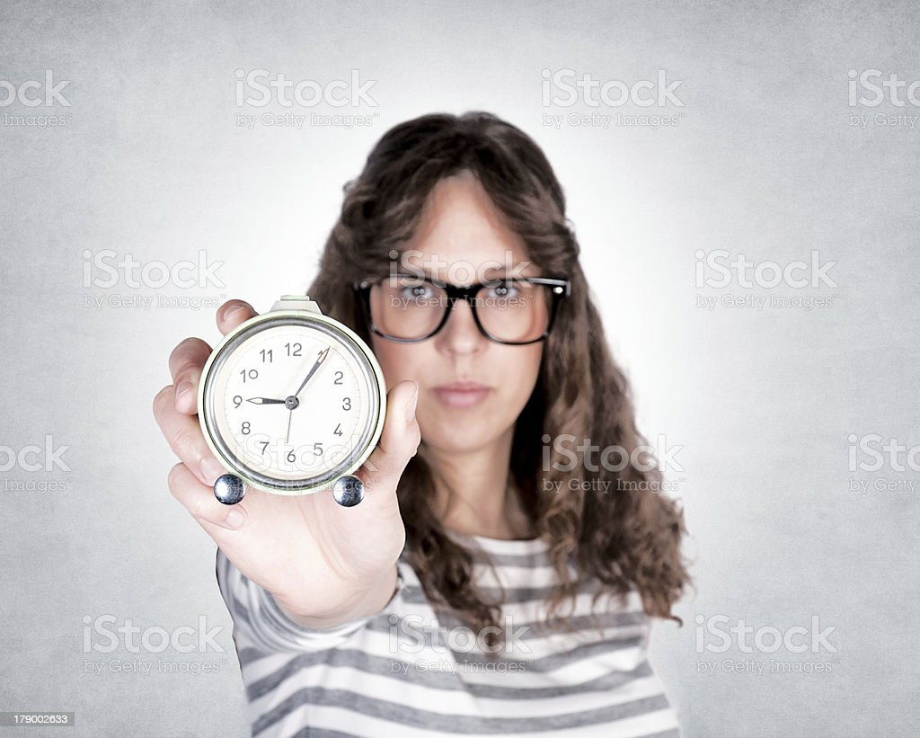Time is passing stock photo