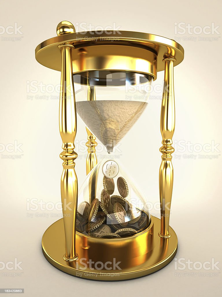 Time is precious royalty-free stock photo