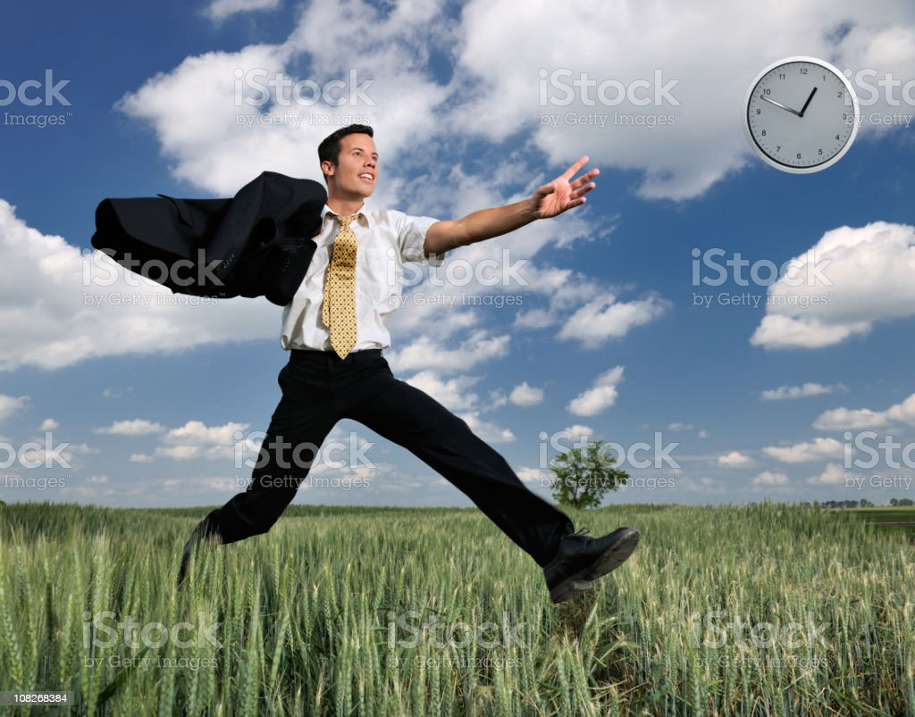 Time Is Running Away royalty-free stock photo
