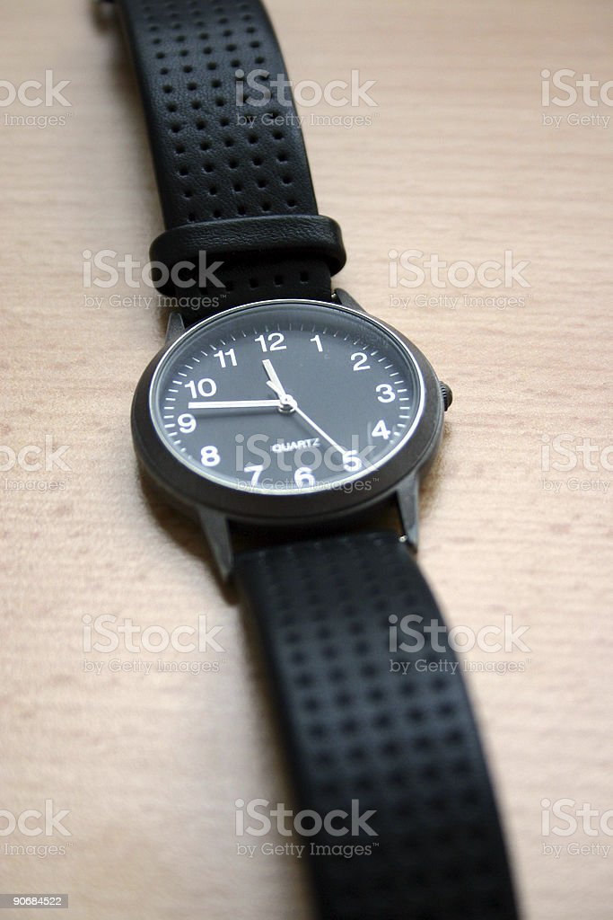 time is running I stock photo