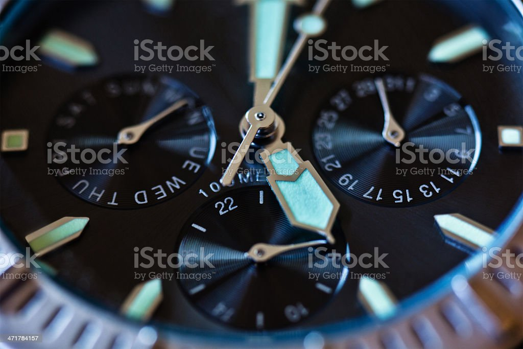 Time is ticking royalty-free stock photo
