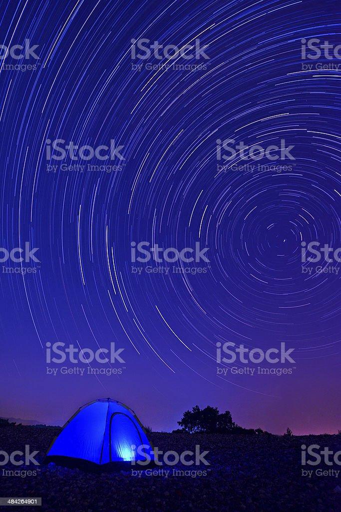 Time lapse stock photo