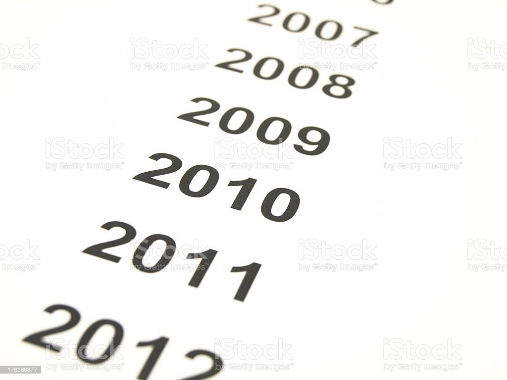 Time line stock photo