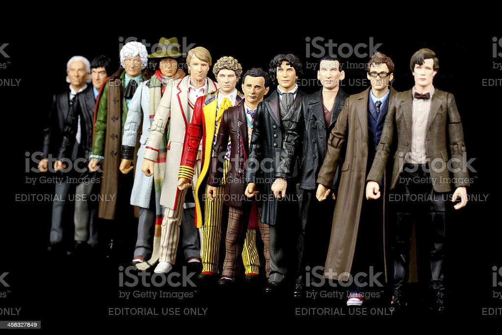 Time Lord Army stock photo